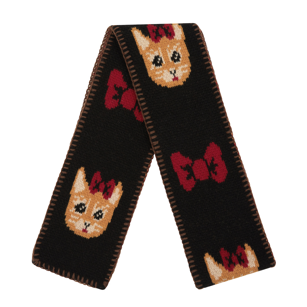 NAT muffler ribbon cat